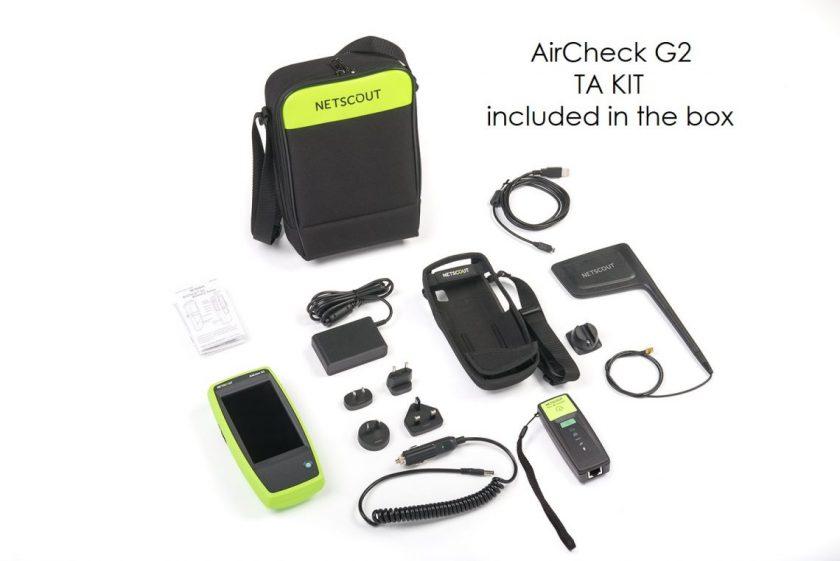AirCheck G2 TA KIT in the box