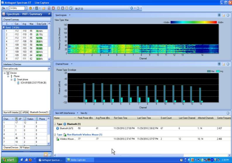 AirMagnet SpectrumXT