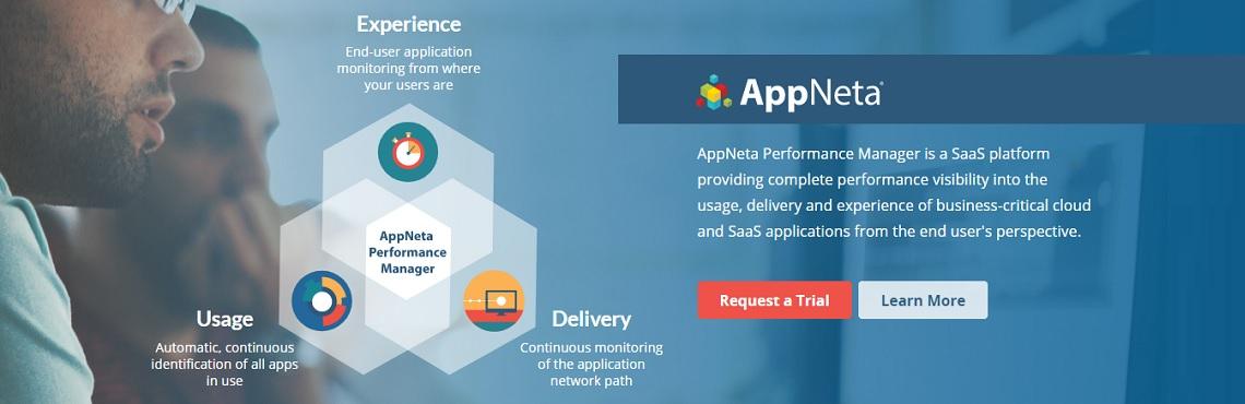 AppNeta homepage Ad