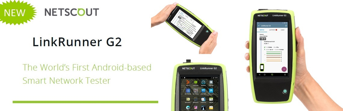 Netscout LinkRunner G2 Homepage Ad