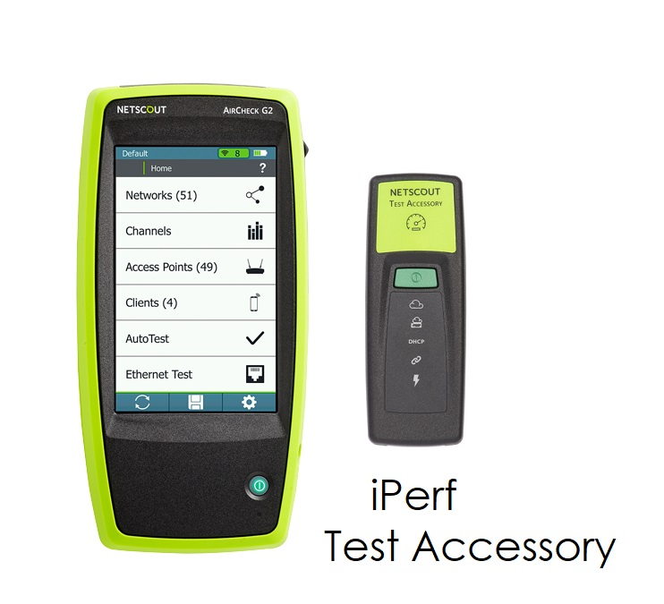 AirCheck G2 with iPerf Test Accessory