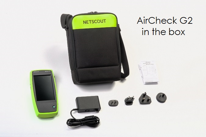 AirCheck G2 in the box