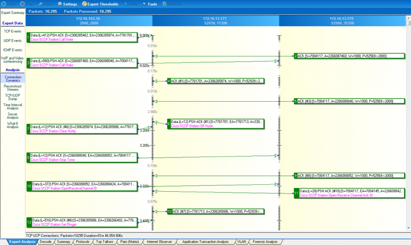 Observer Analyzer conversation screenshot