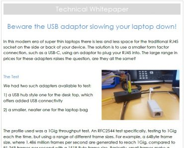 USB Adapter Whitepaper image
