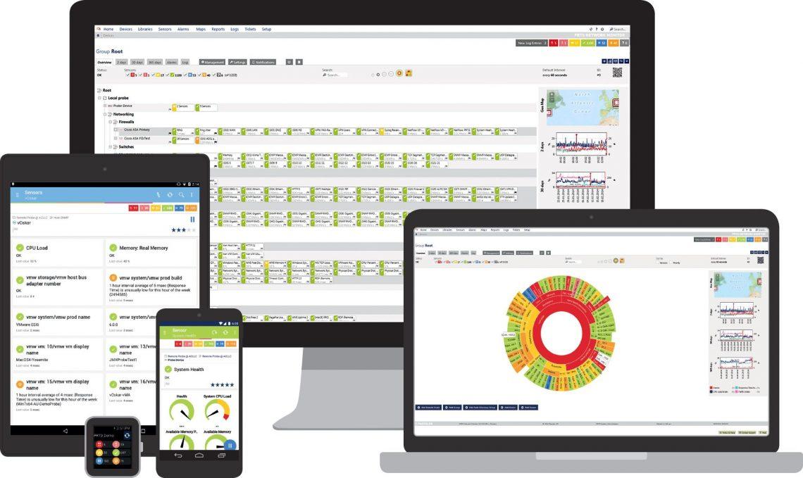 PRTG from Paessler - Full Control Networks