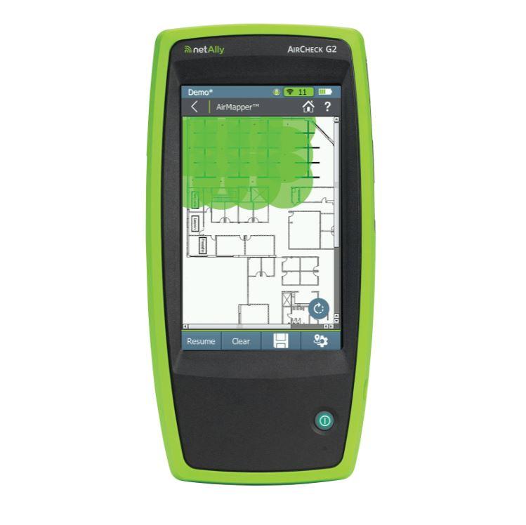 NetAlly AirCheck G2 with AirMapper