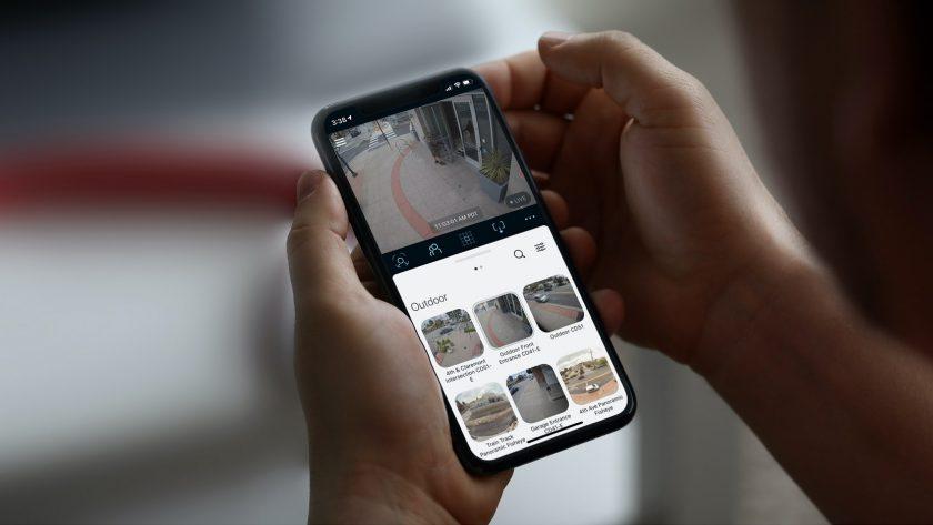 Verkada Video Camera system via smart device