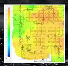 Wireless Survey Heat Map